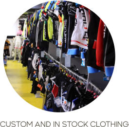 CUSTOM AND IN STOCK CLOTHING
